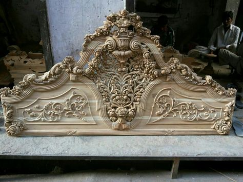 313f106e22ee Luxury French Style and Italian Style Hand Carved Bed - ODMK Home Furniture  Factory