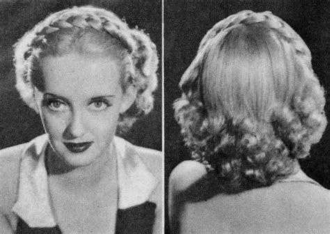 1930s Hair Ecosia Hair Styles 1930s Hair Braids For Short Hair