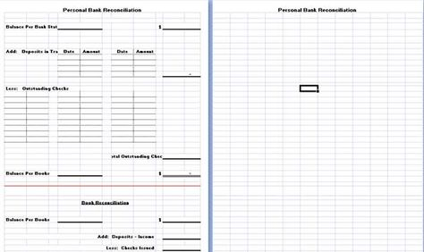 Bank Reconciliation Template is hereby developed to assist people - bank account reconciliation template