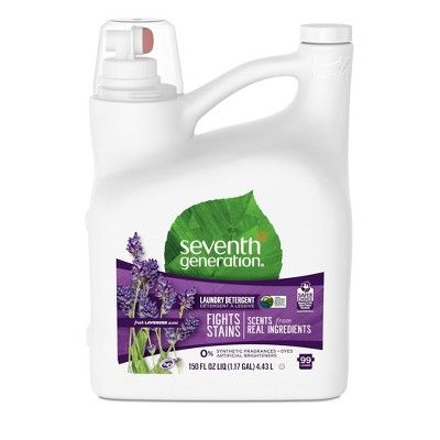 Seventh Generation Fresh Liquid Laundry Detergent Lavender Scent