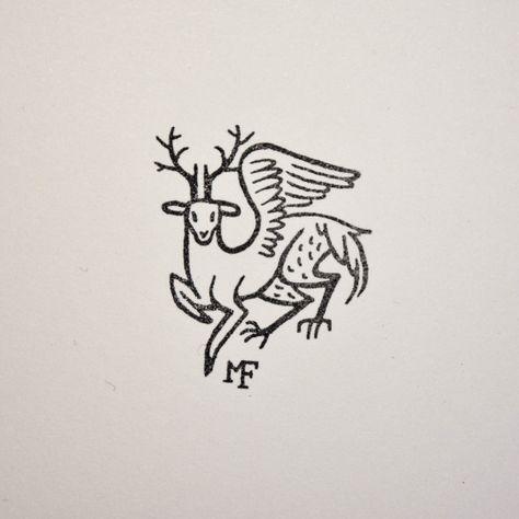 Ex libris collection of Halisten Studio. We love smaller projects, designing a personal ex libris or bookplate is always a pleasure for us! Ex Libris, Logo Luxury, Arte Sketchbook, Book Of Kells, Animal Logo, Grafik Design, Design Reference, Graphic Design Illustration, Tattoo Flash