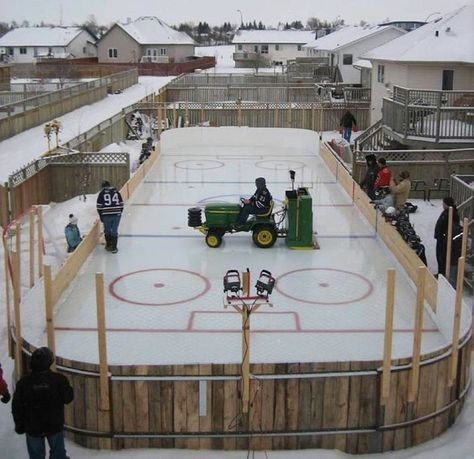 My dream yard for the winter:-)