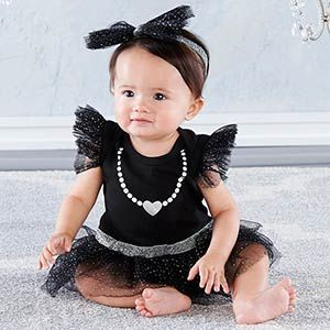 Http Timelesstreasure Theaspenshops Com My First Party Dress With Headband Html In 2020 Dress Headbands Baby Party Dress Black Dress Outfits