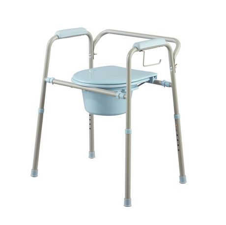 Medline Microban Bedside Toilet Commode Bedside Commode Toilet Commode Commode