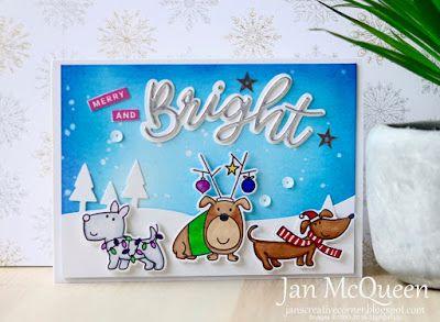 Jan S Creative Corner Social Stamping Merry Bright Merry And Bright Merry Creative