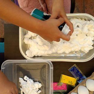 Amosfun El Huevo de la Espuma Hace la decoraci/ón de la Espuma de poliestireno de Pascua DIY para la decoraci/ón 10pcs del Festival del ni/ño