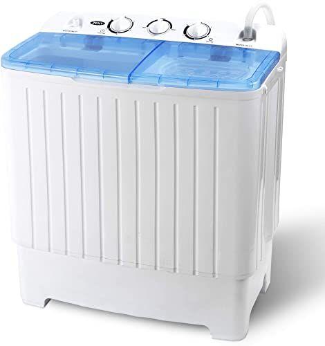 New Zeny Portable Compact Twin Tub Laundry Washing Machine 17 6lbs