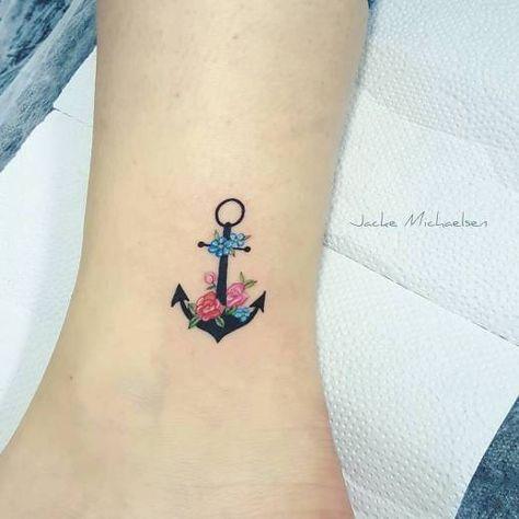 Ancla por Jacke Michaelsen - Tatuajes para Mujeres