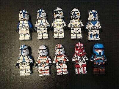 lego Star Wars Clone Trooper minifigure lot custom
