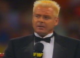 WWF / WWE Summerslam 1989   U0027Ruggedu0027 Ronnie Garvin Was The Special Guest  Ring Announcer For The Greg Valentine Vs. Hercules Match | WWE Old School  ...