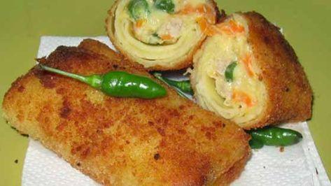 Resep Risoles Ragout Ayam Enak Ala Ny Liem Kulitnya Lembut Dan Tidak Bau Amis Resep Makanan Makanan Dan Minuman