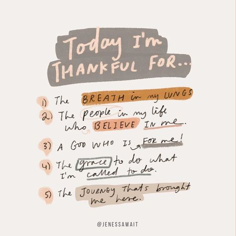 "JENESSA WAIT on Instagram: ""It's staying thankful in the little things that can impact our day and emotions massively! If you want fresh perspective in your life…"""