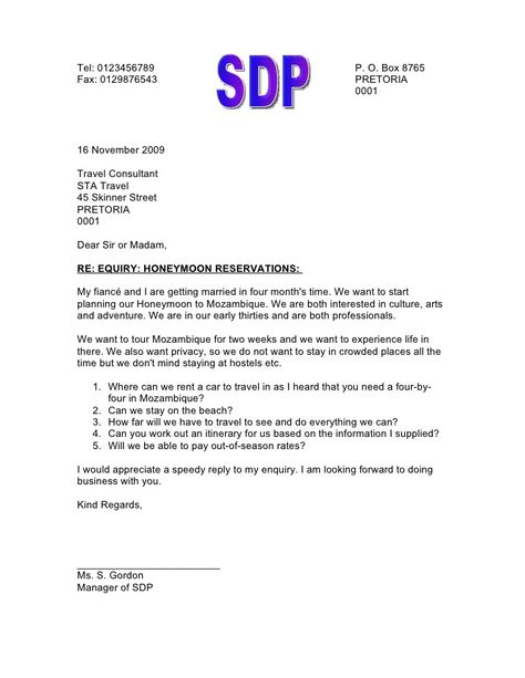 upcoming slideshare business inquiry letter sample Home Design - inquiry letter