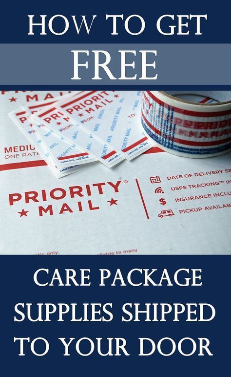 How To Get Free Care Package Supplies Shipped To Your Door Army