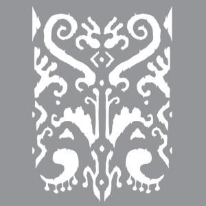 Brocade Motif Deco Art DecoArt ADS-01 Americana Decor Stencil 1