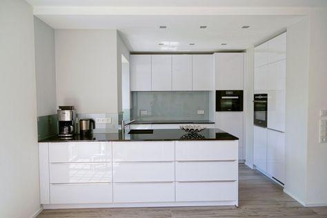 wohnideen küche bodenbelag holzoptik moderne kücheninsel weiß Ev - bodenbelag für küche