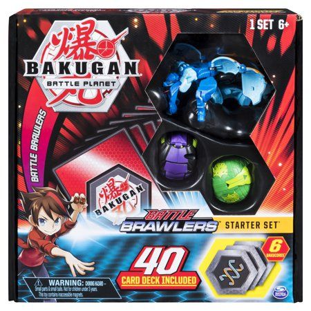Toys Bakugan Battle Brawlers Battle Deck Of Cards