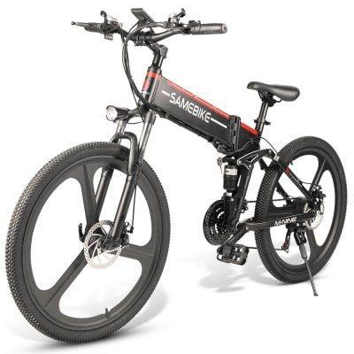 Samebike Lo26 Moped Electric Bike Smart Folding Bike E Bike Us Sale Price Reviews Gearbest Folding Electric Bike Electric Bike Folding Bike