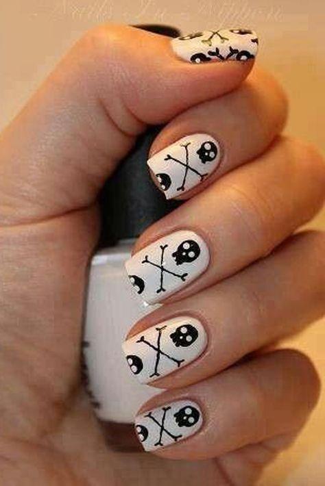 33 Amazingly Boo-tiful Halloween Nail Art Ideas  - Cosmopolitan.com