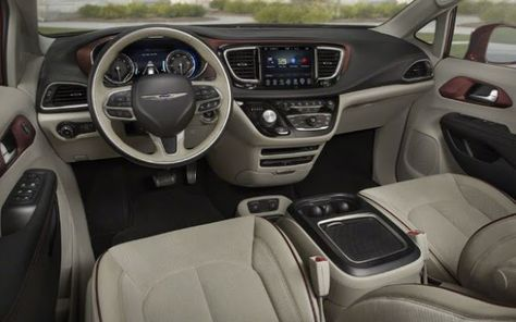 2018 Chrysler Pacifica Design Exterior Interior Performance