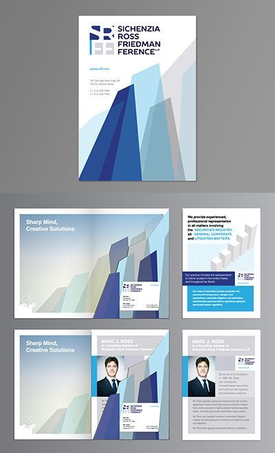 A sleek and modern law firm design Law Firm Brochure Design - law firm brochure