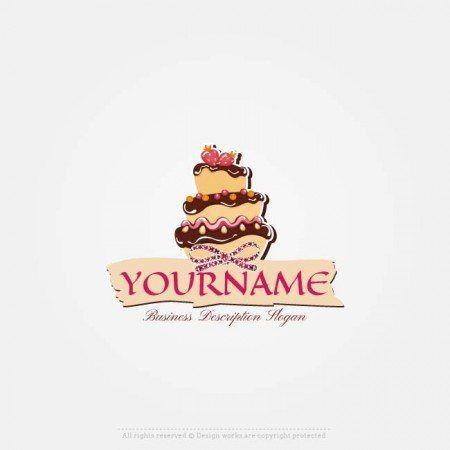 Free Logo Maker Online Royal Cake Logo Design Cake Logo Design Cake Logo Logo Design Inspiration Vintage