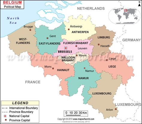 Best Map Images On Pinterest Maps Belgium And Country Maps - Belgium political map 2001