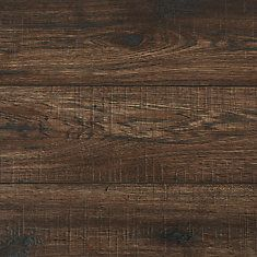 12mm Thick Bisonridge Hickory Laminate Flooring 16 57 Sq Ft Case Laminate Flooring Flooring Home Decorators Collection