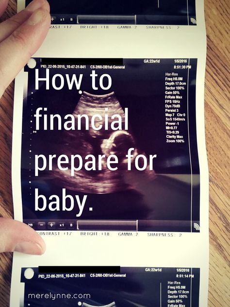 Financially Preparing For Baby