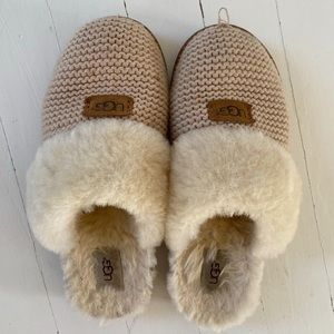 Knit Ugg Slippers In 2020 Slippers Ugg Slippers Womens Uggs