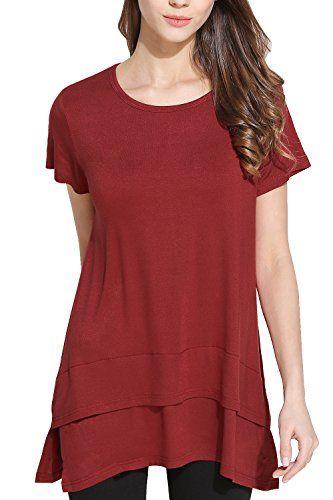 New WomensLadies Casual Baggy Top Side Split Jersey Swing Tank Vest Tee T Shirt