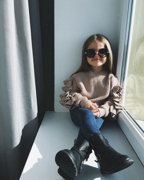19 Ideas de outfits para que tu princesa sea vea hermosa este otoño