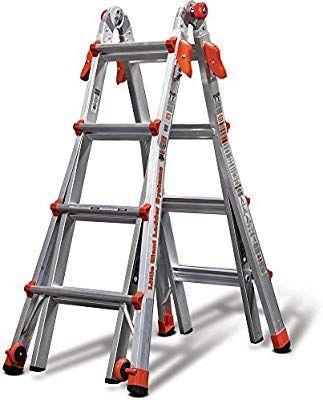 Amazon Com Little Giant Ladder Systems 17 Foot Multi Position Aluminum Lt Ladder Garden Outdoor Best Ladder Little Giants Aluminium Ladder