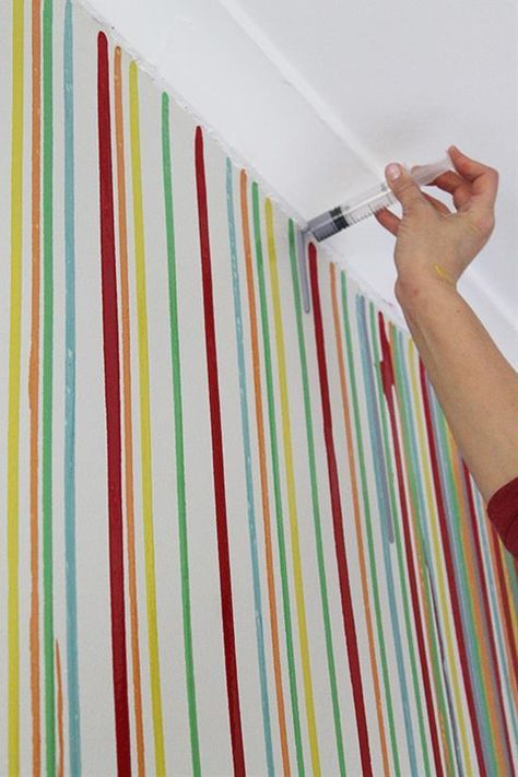 Paint Must Be The Easiest And Most Cost Effective Way To Quickly Transform A Room Whether You Choose To C Painted Feature Wall Diy Wall Painting Wall Painting