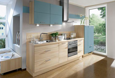 12 best Kitchen images on Pinterest Light blue kitchens, Curve - plana küchen preise