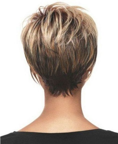 Cool back view undercut pixie haircut hairstyle ideas 28 - VIs-Wed