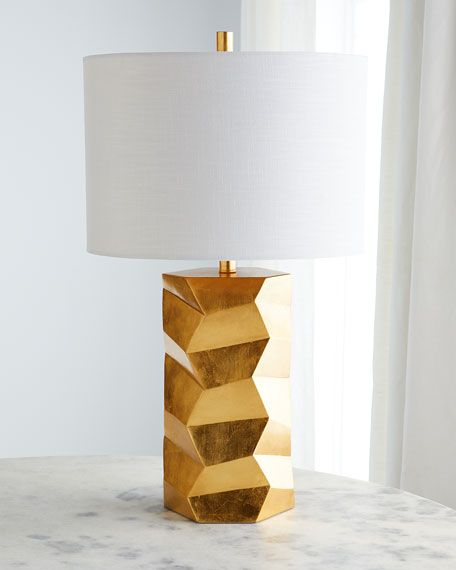 Global Views Chiseled Large Table Lamp Large Table Lamps Table Lamp Lamp