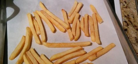French fries: Deep fried vs. baked