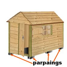 plan cabane bois de jardin+ abri jardin bois+cabanes à outils+ ... - Fabriquer Une Cabane De Jardin Pour Enfant