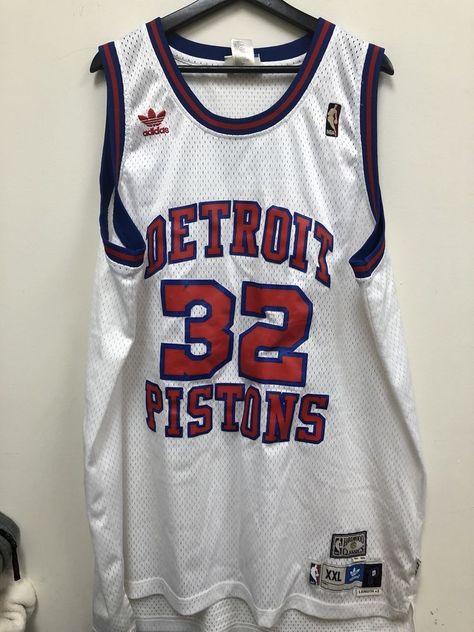 32c18831ac9 Adidas Richard Hamilton Hardwood Classics Swingman Pistons Jersey Size XXL  | eBay