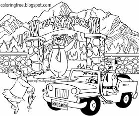 Free Coloring Pages Printable Pictures To Color Kids Drawing Ideas Yogi Bear Coloring Pages Us Camp Bear Coloring Pages Kids Cartoon Characters Coloring Pages