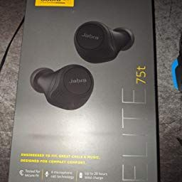 Amazon Com Jabra Elite Active 75t Earbuds Alexa Built In True Wireless Earbuds With Charging Case Navy In 2020 Earbuds Wireless Earbuds Wireless