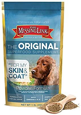 Amazon Com The Missing Link Original All Natural Superfood Dog Supplement Balanced Omega 3 6 To Support H In 2020 Dog Food Recipes Cook Dog Food Homemade Dog Food