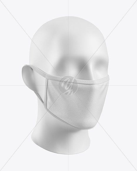 Download Nose Mask Mockup Free Download One Piece Face Mask Mockup In Apparel Mockups On Yellow Images Mockup Free Psd Mockup Psd Clothing Mockup