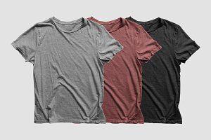 Download Heathered T Shirt Mockup Shirt Mockup Tshirt Mockup Clothing Mockup