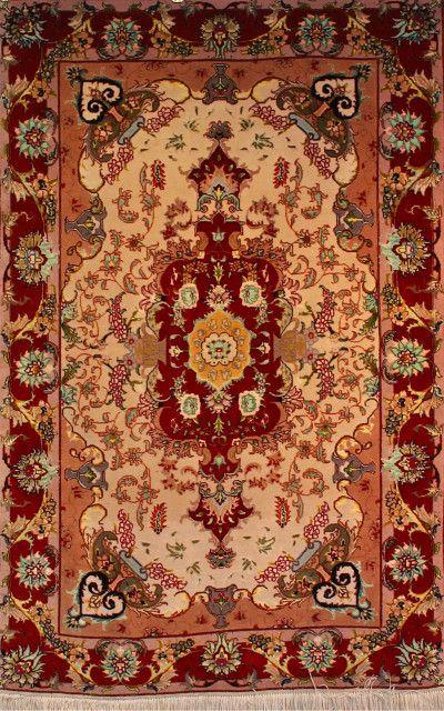 Esfahan 205 3041 Persian Carpet