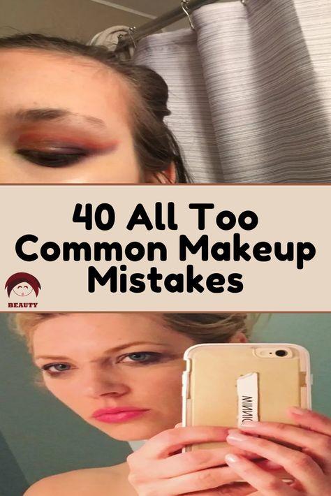 Makeup Mistakes, Make Beauty, Beauty Hacks, Beauty Tips, Celebs, Celebrities, Just Amazing, Haha Funny, Cringe