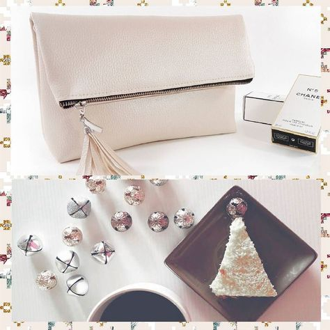merrychristmas Blush wedding bag -...