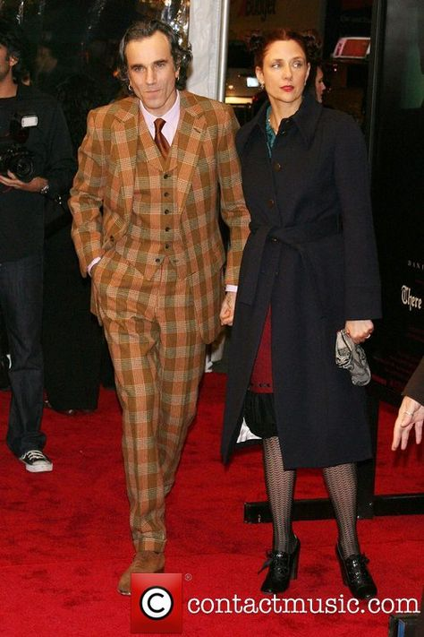Daniel Day-Lewis and wife Rebecca Miller Premiere of...