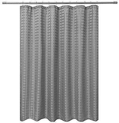Barossa Design Fabric Shower Curtain Grey Gray Hotel Grade